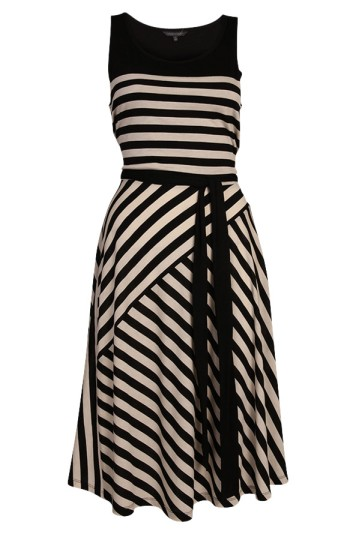 eleanor striped dress