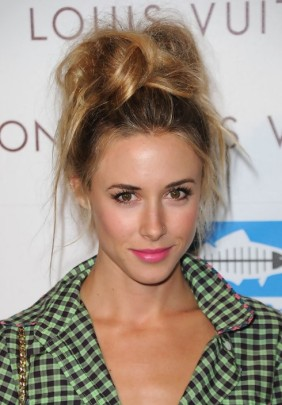 Gillian-Zinser-Messy-Top-Knot-Updo-Hairstyle