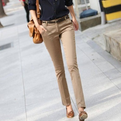 Free-Shipping-2012-NEW-Korea-Summer-Casual-All-Match-OL-Trousers-Khaki-Pants-Fashion-Slim-Skinny